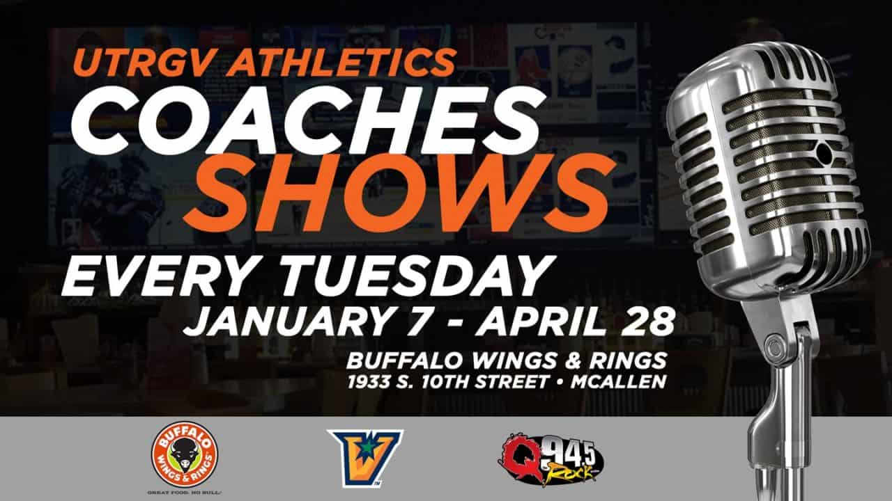 UTRGV Basketball and Coaches Shows Return to the Radio on Q 94.5 The Rock Station 1