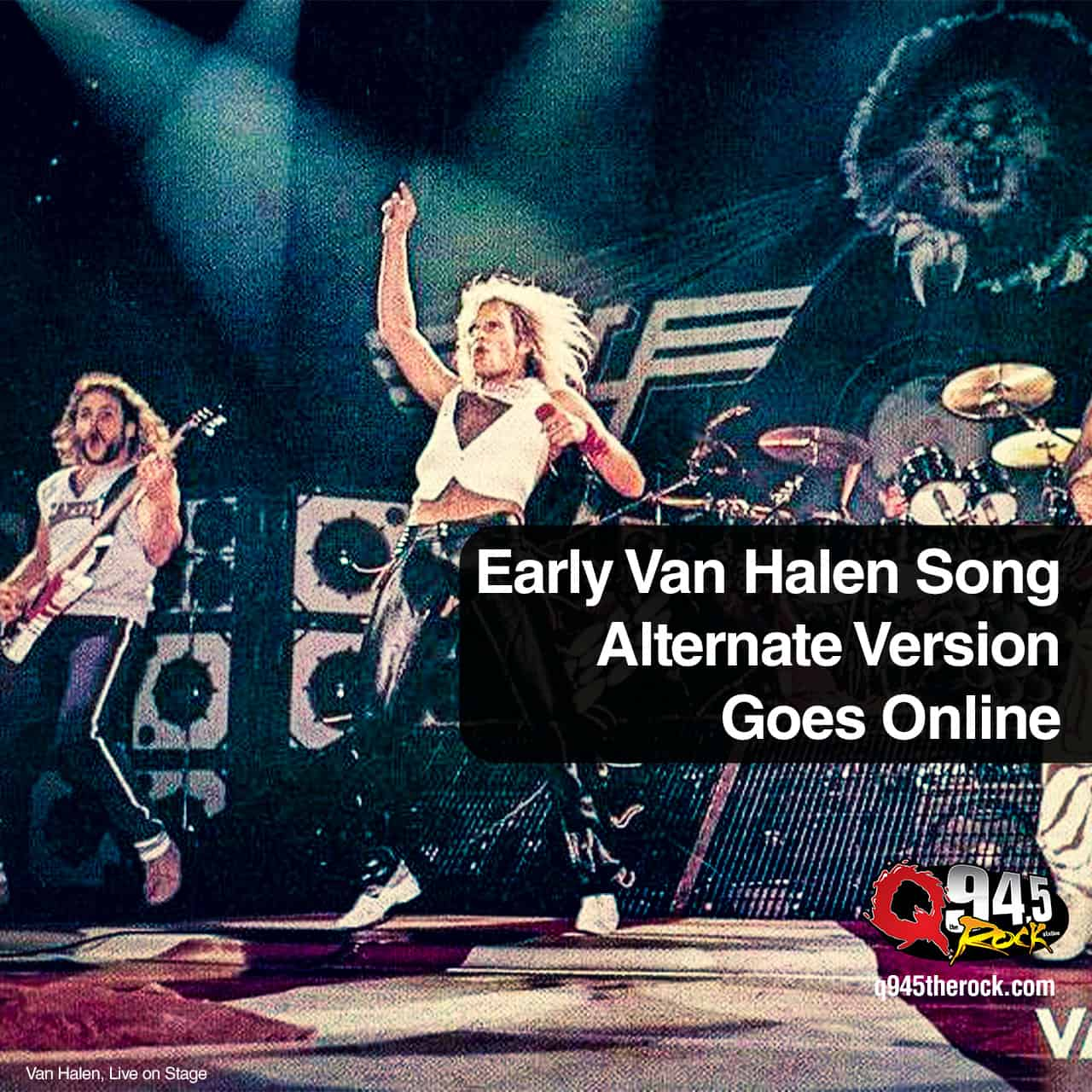 Early Van Halen Song Alternate Version Goes Online