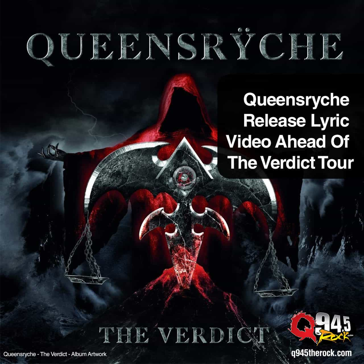 Queensryche Release Lyric Video Ahead Of The Verdict Tour 1