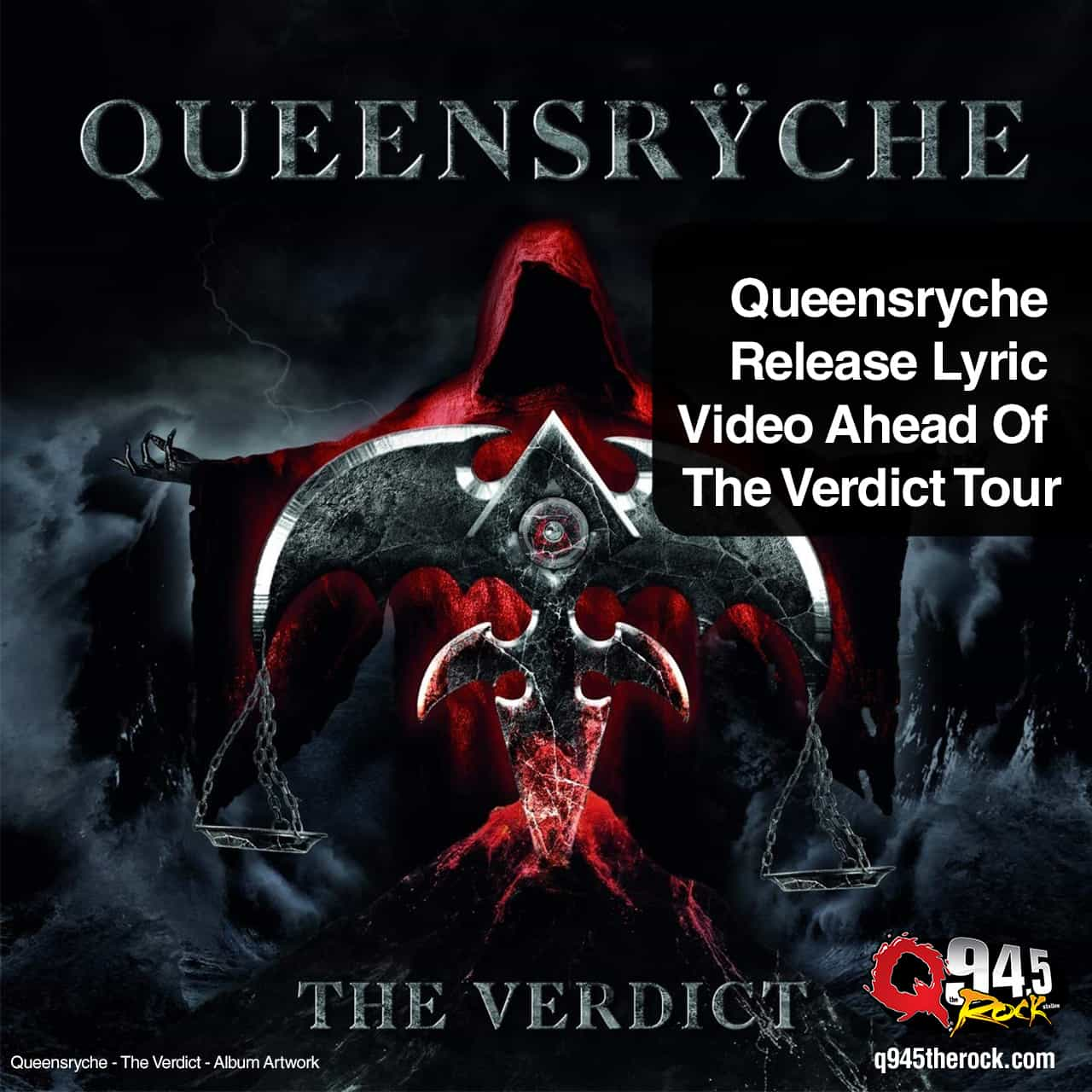 Queensryche Release Lyric Video Ahead Of The Verdict Tour