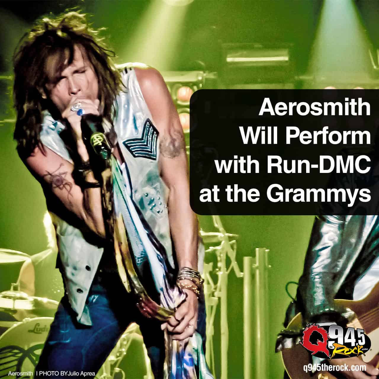 Aerosmith Will Perform with Run-DMC at the Grammys -  KFRQ Q94.5