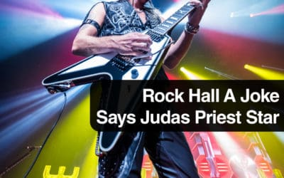 Rock Hall A Joke Says Judas Priest Star