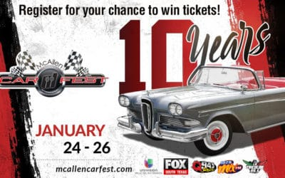 Register for your chance to win tickets to the McAllen International Carfest 2020!