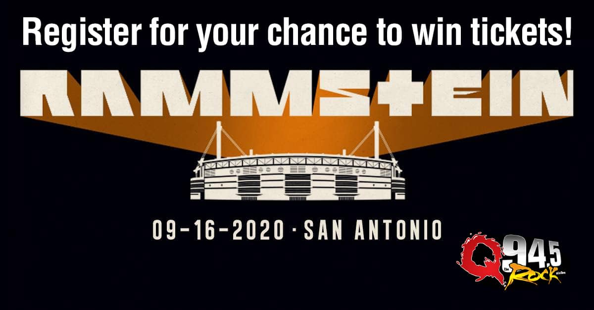 Register for your chance to win tickets to see Rammstein Live at the Alamodome! 1