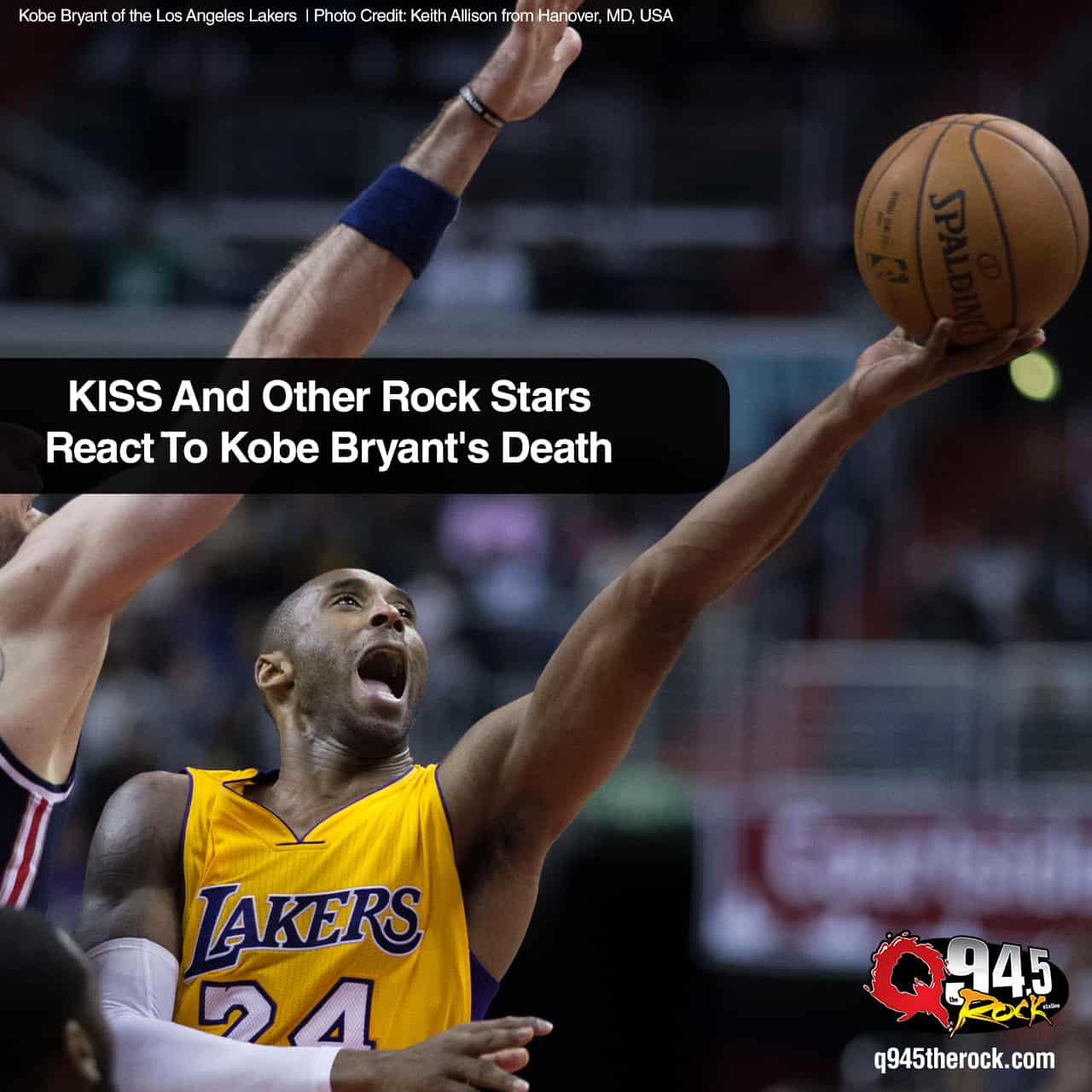 KISS And Other Rock Stars React To Kobe Bryant's Death