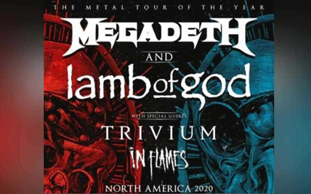 Megadeth and Lamb Of God Announce Coheadline Tour