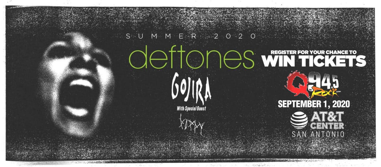 The Deftones in Concert on September 1st at the AT&T Center in San Antonio