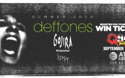 Register for your chance to win tickets to see the Deftones!