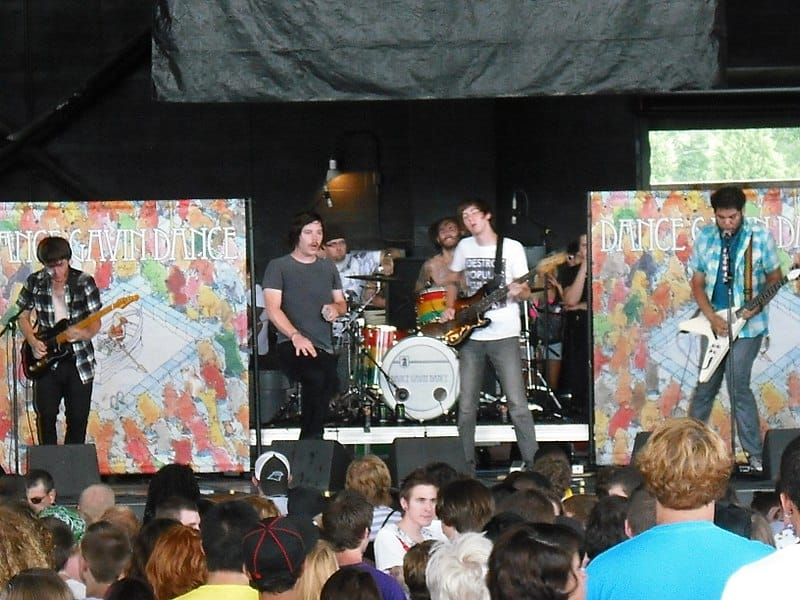 Photo Credit: Benuski Dance Gavin Dance at Warped Tour