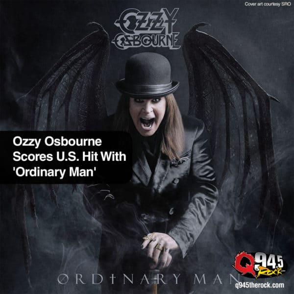 Ozzy Osbourne Scores U.S. Hit With 'Ordinary Man'