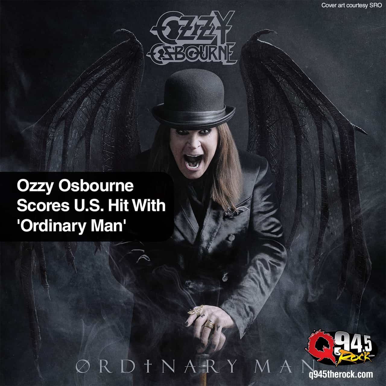 Ozzy Osbourne Scores U.S. Hit With 'Ordinary Man'
