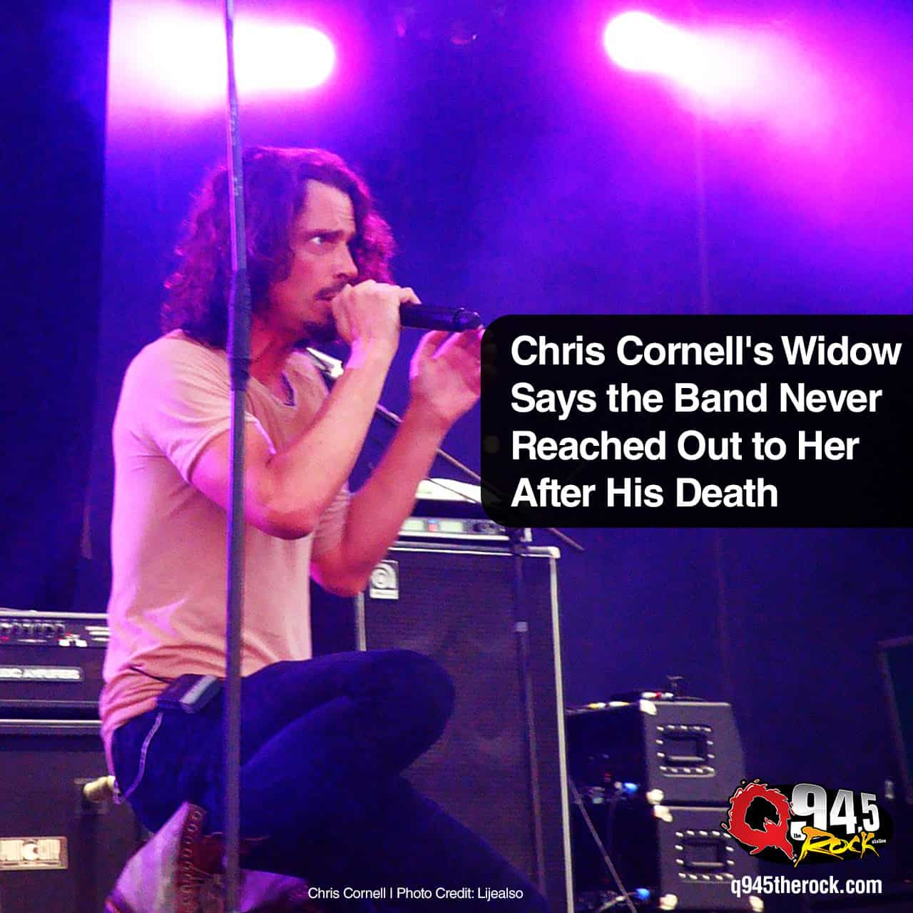 Chris Cornell's Widow Says the Band Never Reached Out to Her After His Death