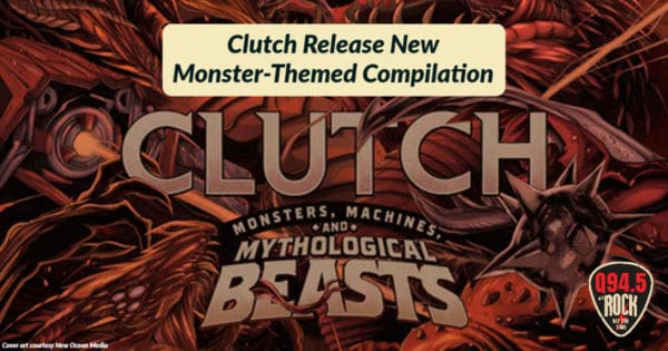 Clutch Release New Monster-Themed Compilation