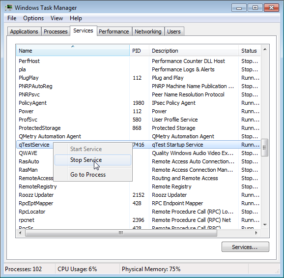 Check Network Ports and Shutdown Manager on Windows – Tricentis