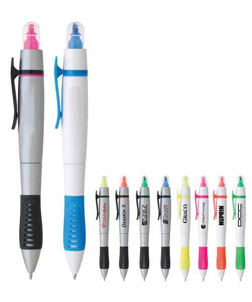 Dual-Tip Pen-Highlighter