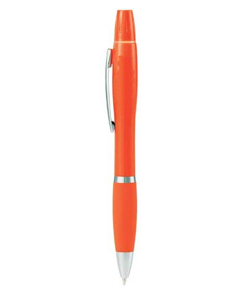 Dual-Tip Twist-Action Pen/Highlighter