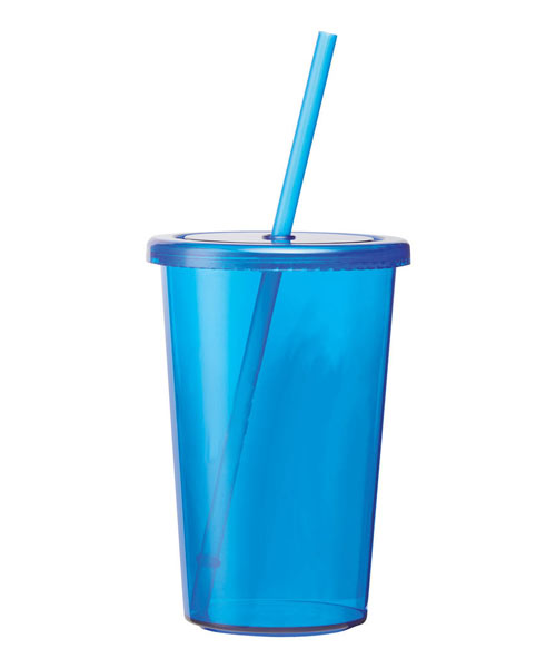 16 oz. Tumbler with Straw