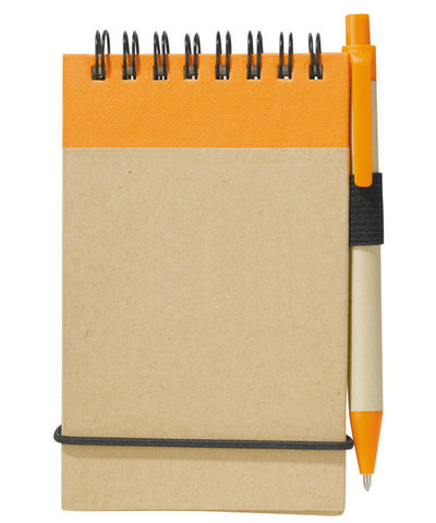 Recycled Pocket Jotter w/ Pen