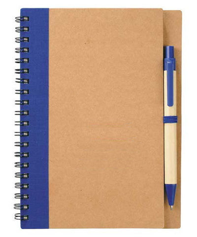 Eco Spiral Notebook w/ Pen