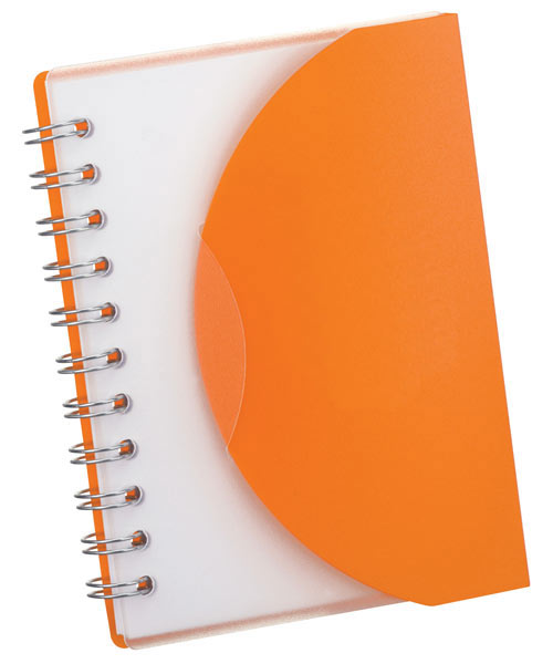 Pocket Notebook w/ Fold-Over Cover