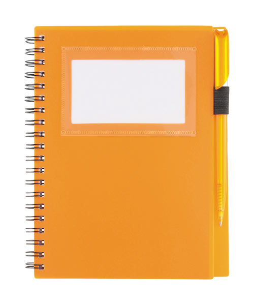 Window Spiral Notebook With Pen