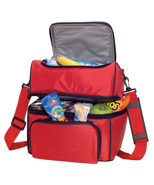 Dual Compartment Insulated Bag