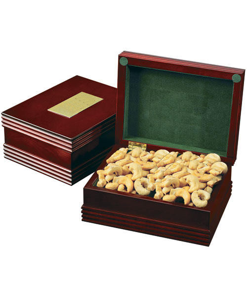 Salted Cashews Mahogany Gift Box