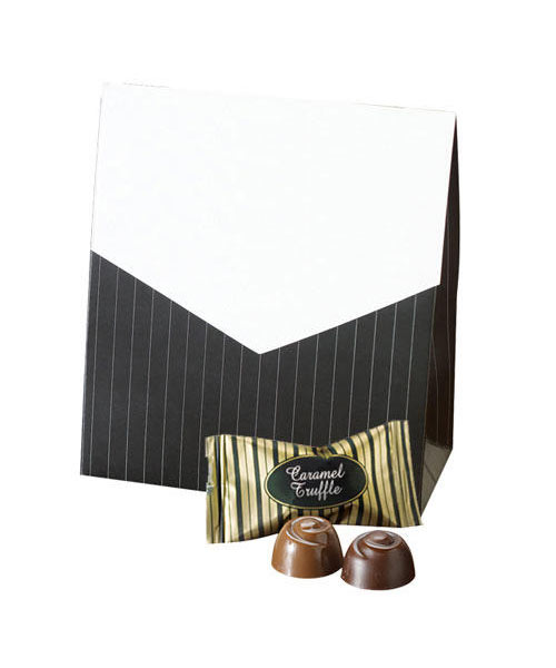 Signature Truffle Pinstripe Deluxe Pouch