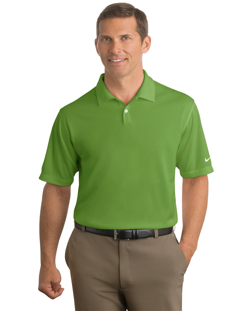 135d15971 Nike Golf Embroidered Men's Dri-FIT Pebble Texture Polo - Queensboro