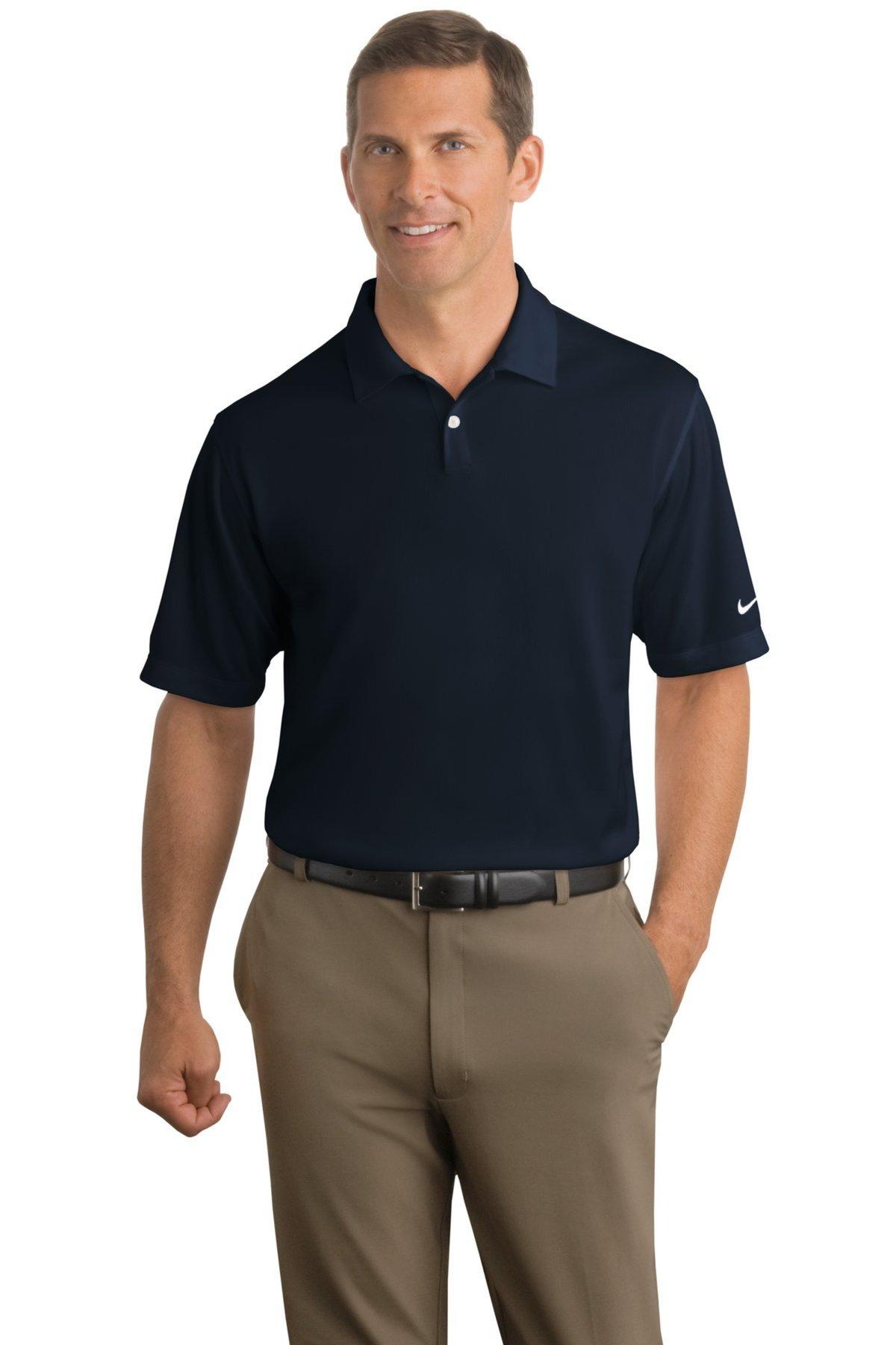 6c26b21e Nike Golf Embroidered Men's Dri-FIT Pebble Texture Polo   Nike - Queensboro