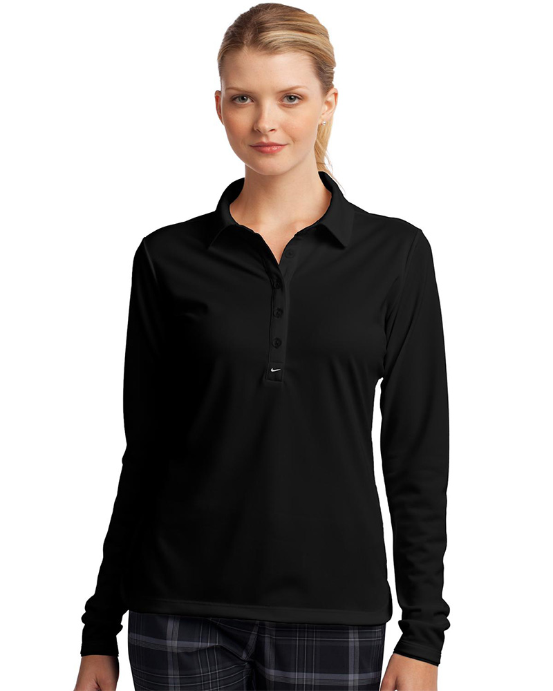 Nike Golf Embroidered Women's Long Sleeve Dri-FIT Stretch Tech Polo