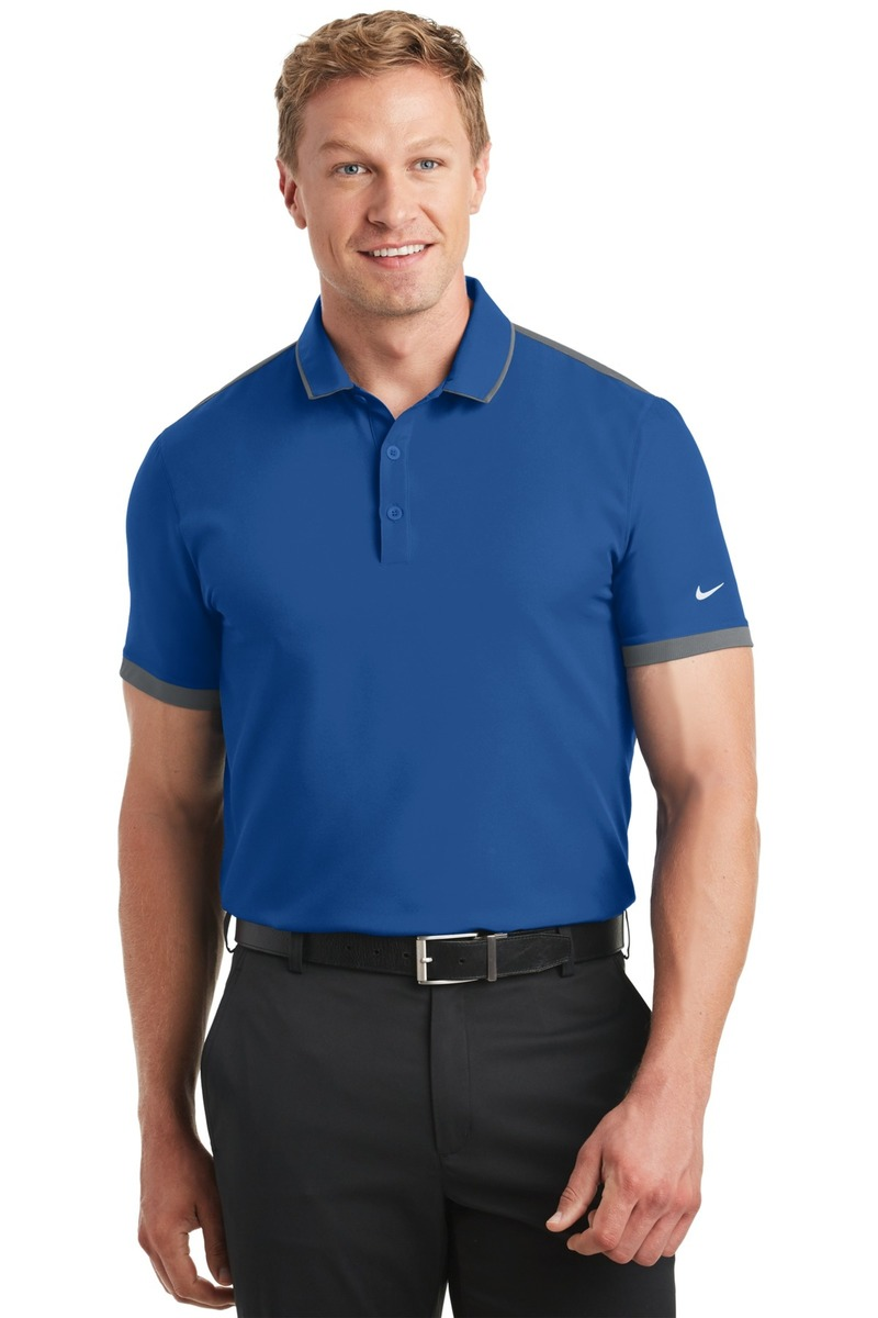 Nike Golf Embroidered Men's Dri-FIT Stretch Woven Polo