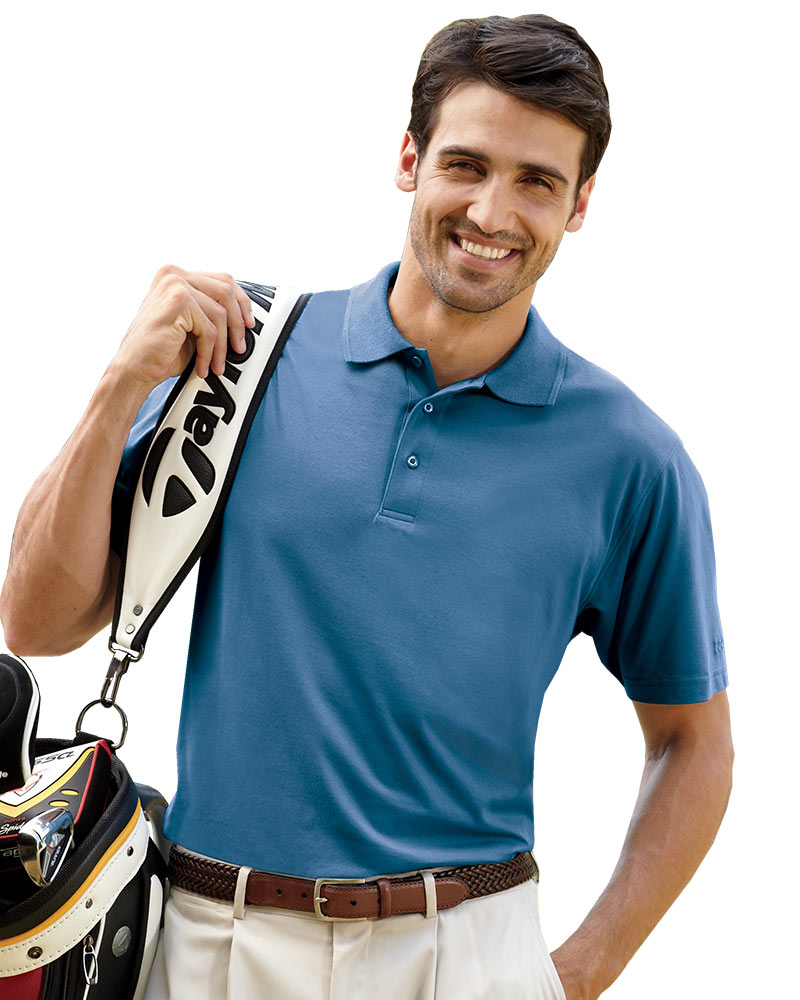 SPECIAL ORDER - IZOD Pima Cool Jersey Knit Golf Shirt