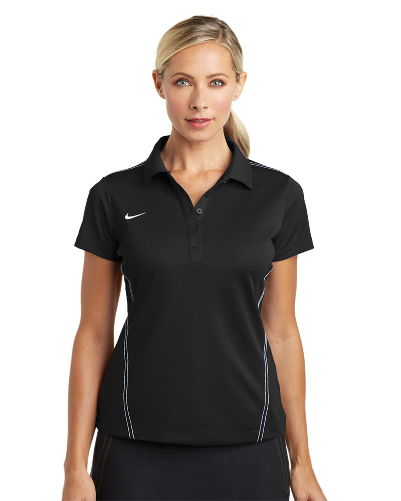 Nike Golf Embroidered Women's Dri-FIT Sport Swoosh Pique Polo
