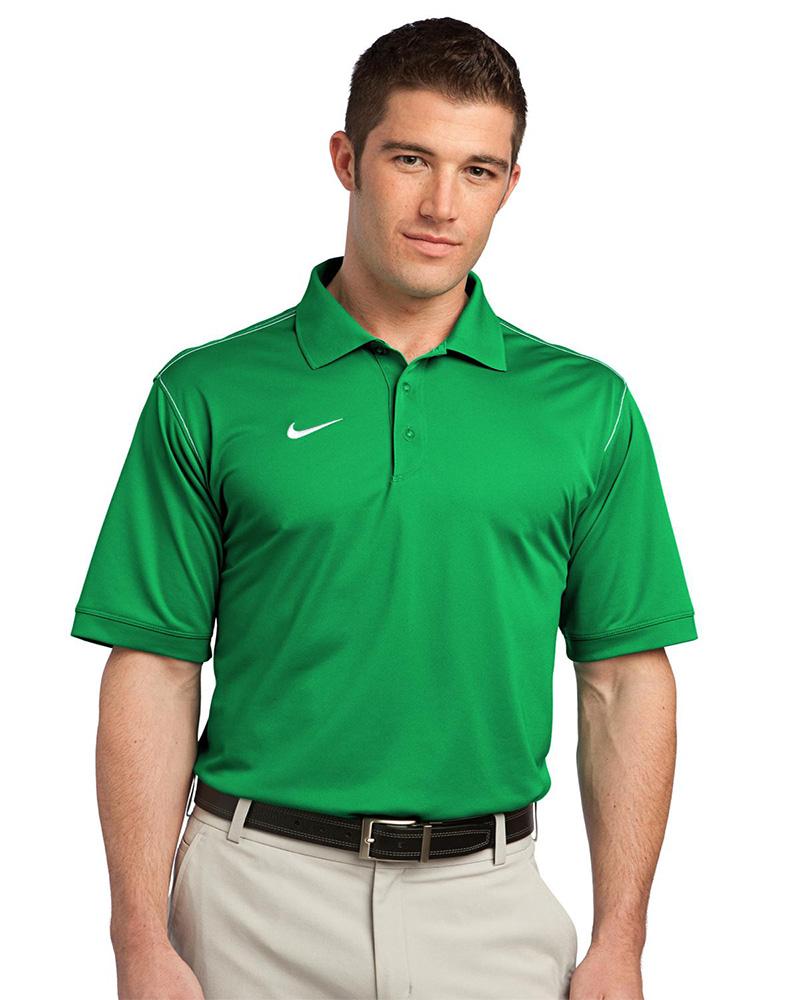Nike Golf Embroidered Men S Dri Fit Sport Swoosh Pique Polo Queensboro