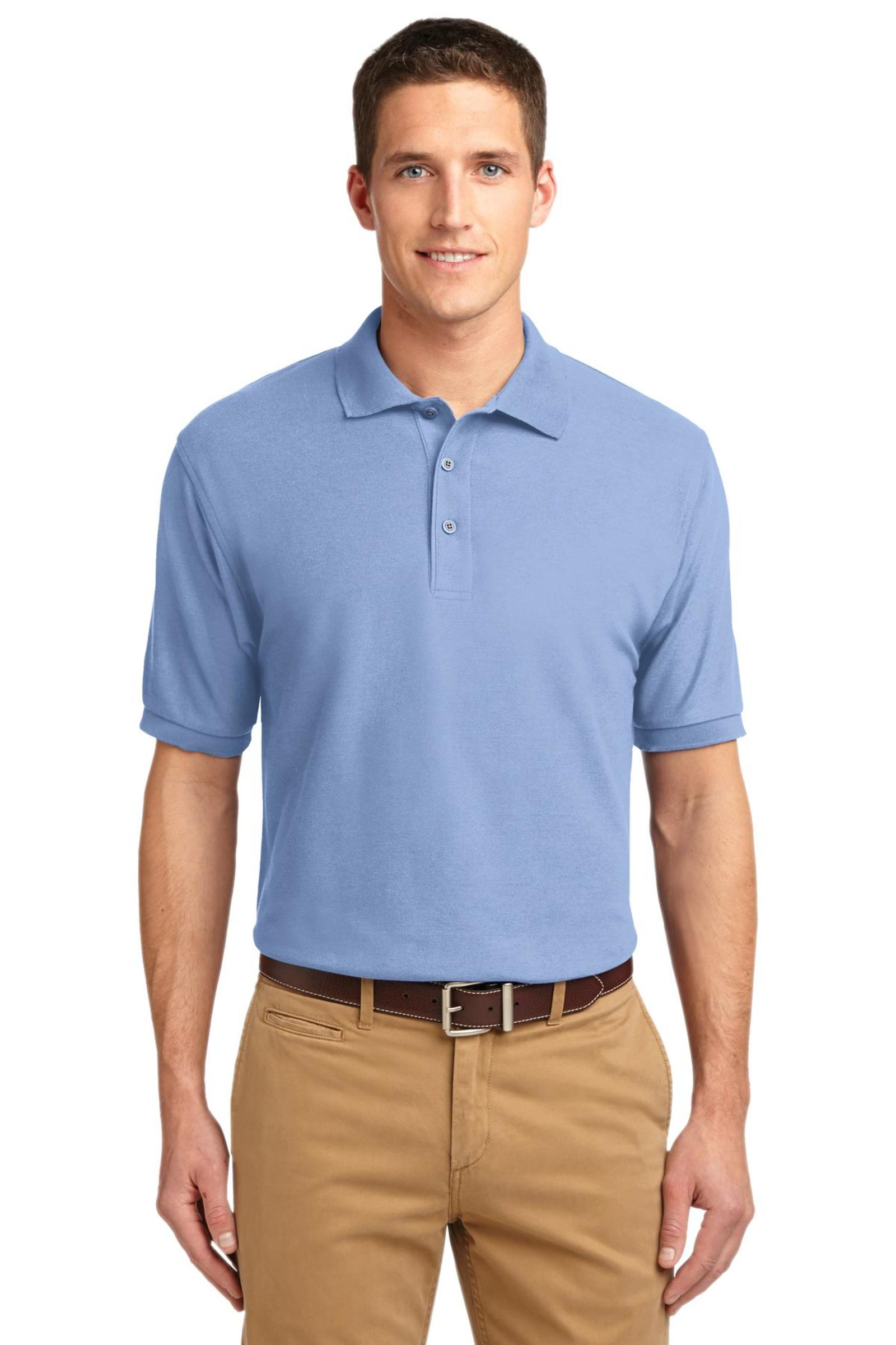 Port Authority Silk Touch Pique Polo