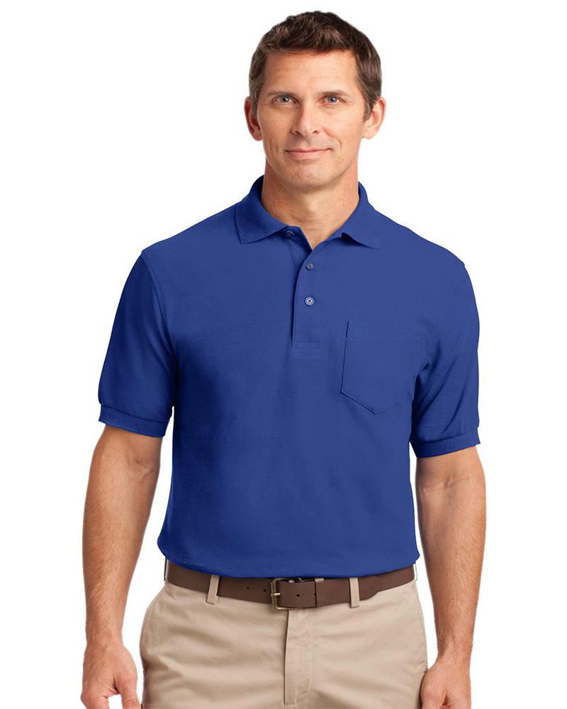 Port Authority Silk Touch Pocket Polo