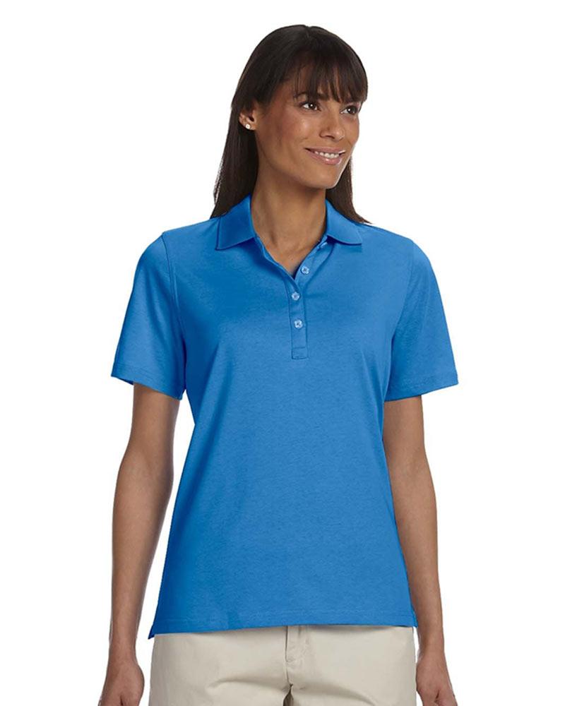Ashworth Ladies High Twist Cotton Tech Polo