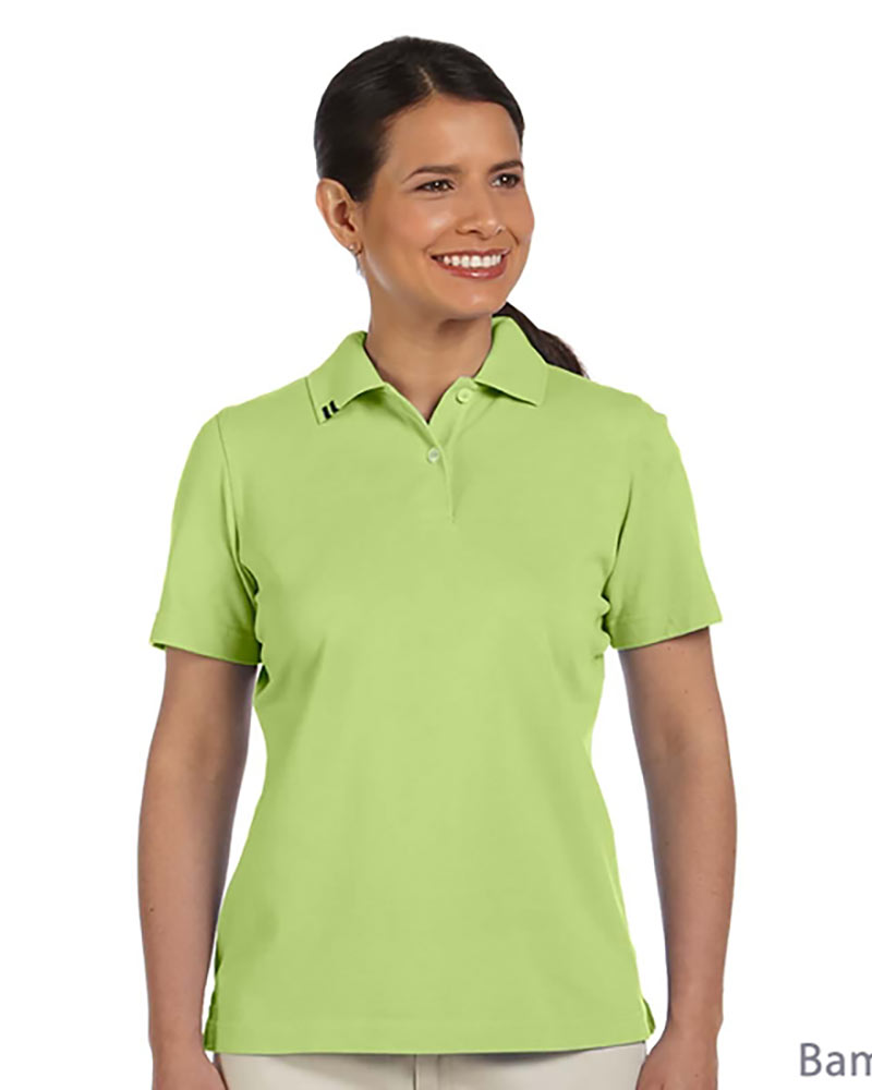 Ashworth EZ-TECH Ladies Non-Iron Cotton Pique Polo