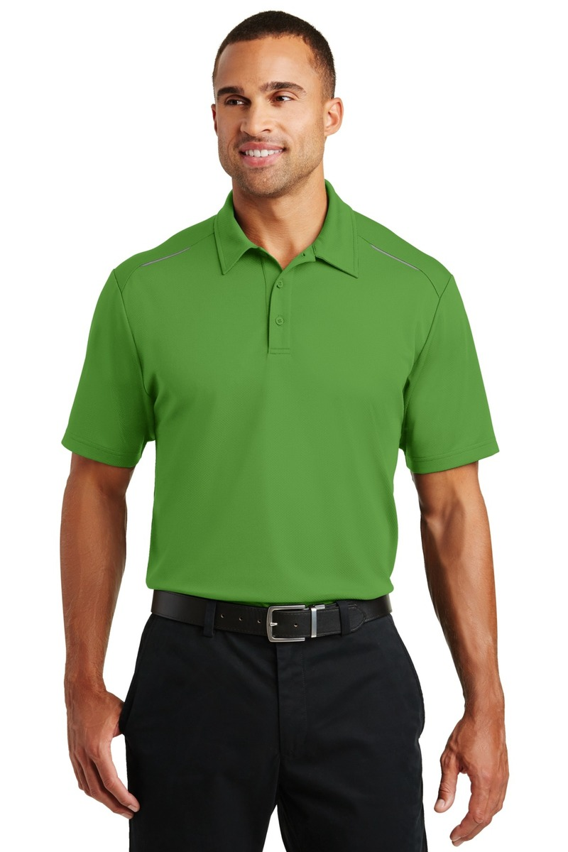 Port Authority Embroidered Men's Pinpoint Mesh Polo