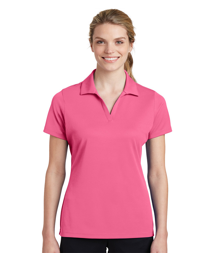 Sport-Tek Printed Women's 100% Performance RacerMesh Polo