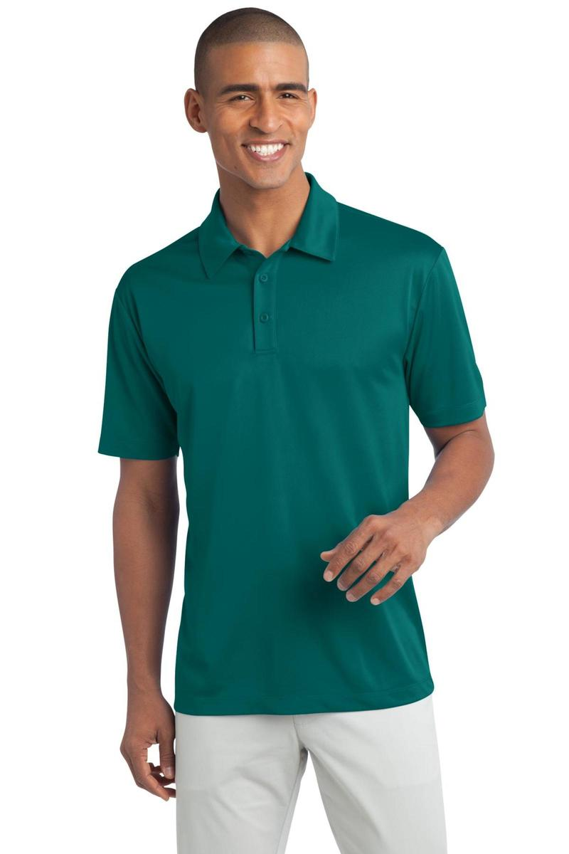 Port Authority Embroidered Men's Tall Silk Touch Performance Polo