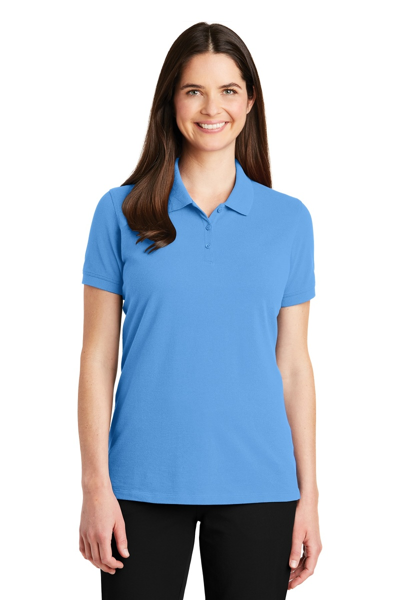Port Authority Ladies EZCotton Pique Polo