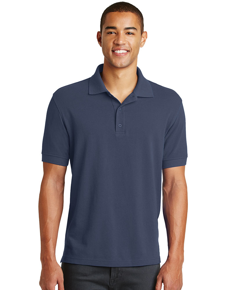 Eddie Bauer Embroidered Men's Cotton Pique Polo