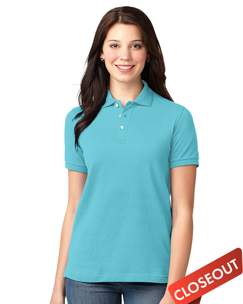 Queensboro Women's Eco Pique Polo - Discontinued!