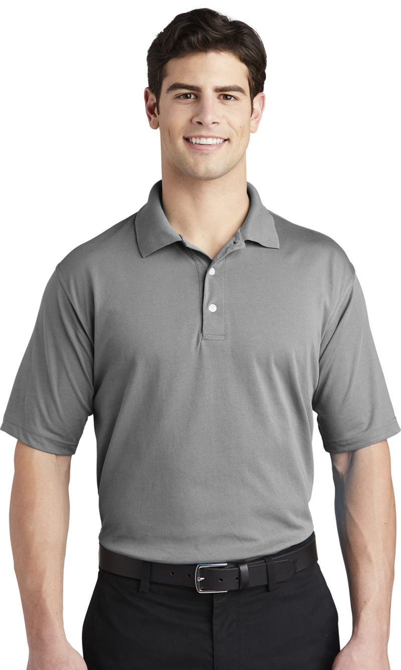 Queensboro LIFT Embroidered Men's  Luxury Hybrid Jersey Polo