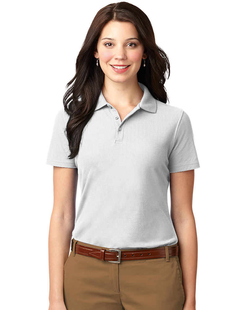 Queensboro Women's Hybrid Jersey Polo- Discontinued Colors!