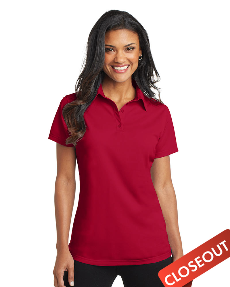 Queensboro LIFT Embroidered Women's  Performance Polo