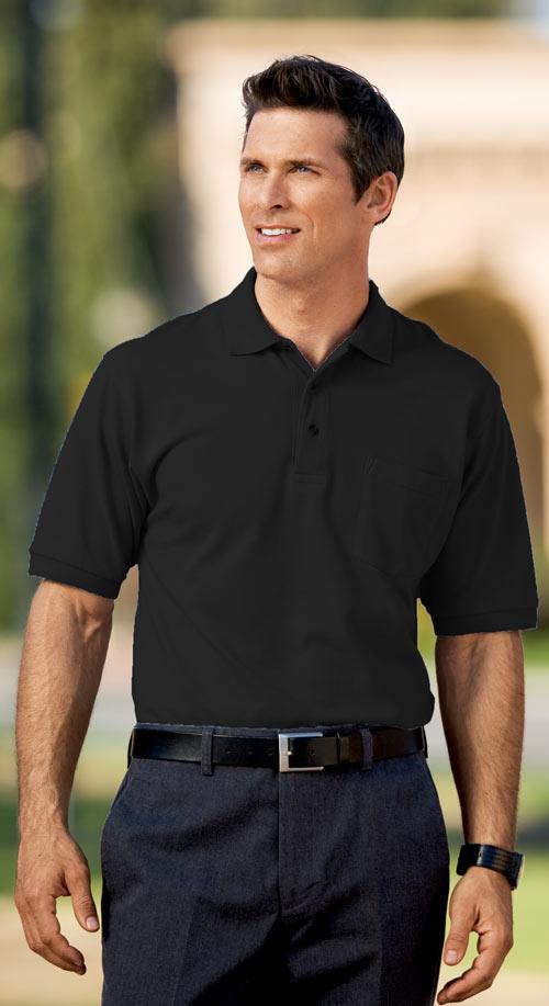 Clique Easy Care Stain Release Pique Pocket Polo