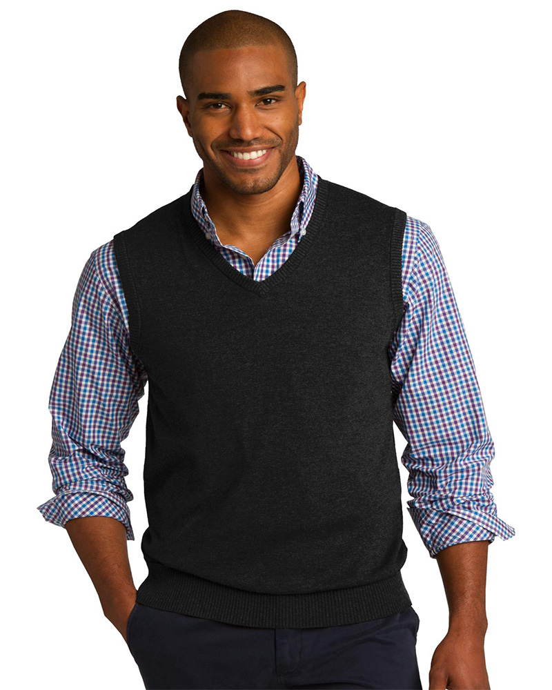 Port Authority Embroidered Men's Sweater Vest
